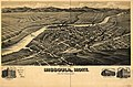 Perspective map of Missoula, Mont. county seat of Missoula County. LOC 75694674.jpg