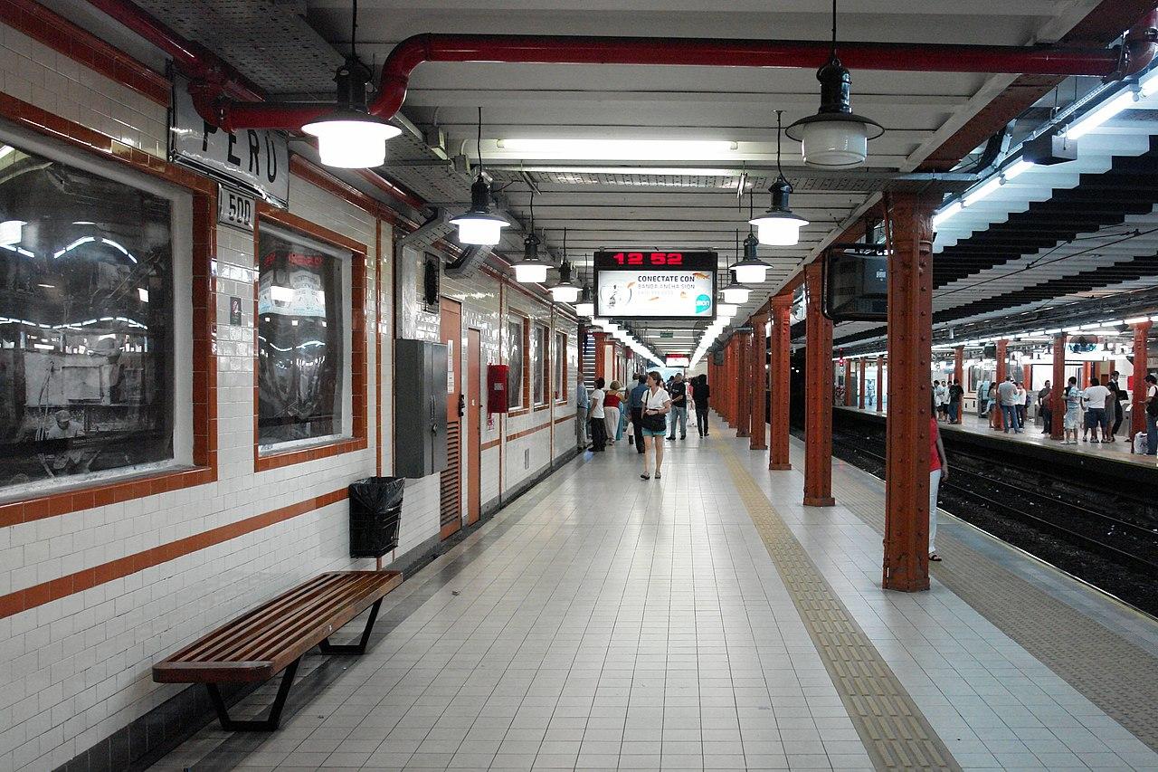 Oslo airport metro station