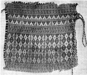 Double cloth - Double cloth bag from Peru.