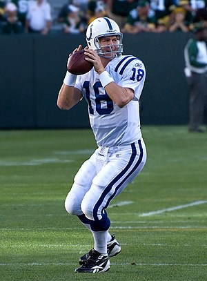 National Football League Most Valuable Player Award - Peyton Manning, five-time AP NFL MVP