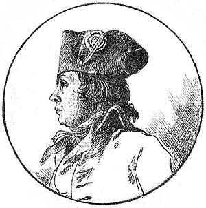 Philippe-François-Joseph Le Bas - Philippe Francois Joseph Le Bas sketch by Jacques-Louis David.
