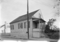 Photograph Showing the Front Door of the Dufour House in Ste Genevieve MO.png
