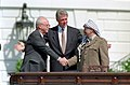 Photograph at the Middle East Peace Agreement Ceremony - NARA - 1985480.jpg