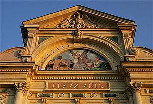 Musée d'Art et d'Histoire (Neuchâtel) - The museum facade.
