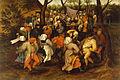 Pieter Bruegel II - Peasant Wedding Dance - Walters 37364.jpg