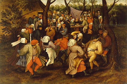 Pieter Bruegel II - Peasant Wedding Dance - Walters 37364