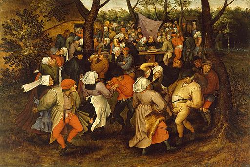 Pieter Bruegel II - Peasant Wedding Dance - Walters 37364