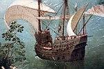 Pieter bruegel il vecchio, caduta di icaro, 1558 circa 06 nave.JPG