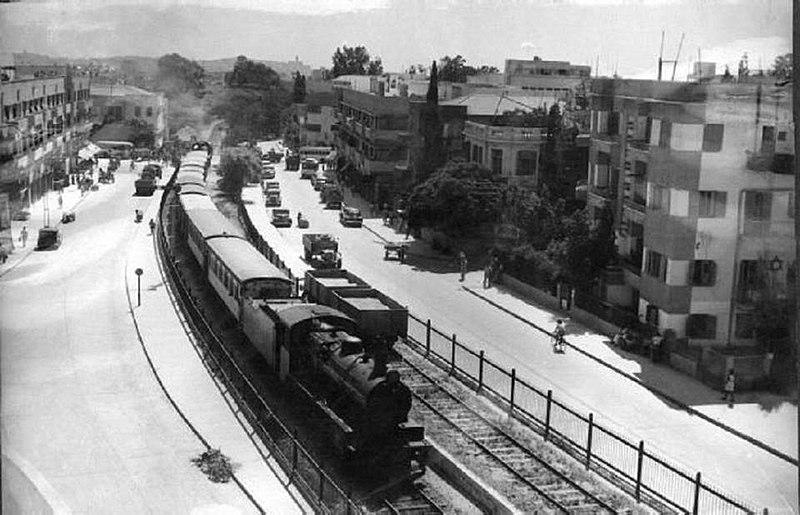 תל אביב - רכבת לירושלים