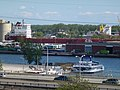 Pineglen and another freighter, moored in Toronto, 2013 06 03 C (4).JPG