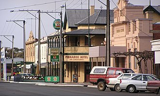 Pinnaroo, South Australia - Pinnaroo main street, looking east