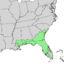 Pinus elliottii range map.png