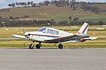 Piper PA-28-140 Cherokee (VH-KLF) at Wagga Wagga Airport.jpg