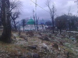 Buner District - The grave of Pir Baba