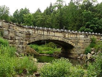 Pithole Stone Arch Bridge - Image: Pithole Stone Arch Bridge