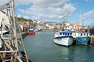Sir John Anstruther, 2nd Baronet - Pittenweem Harbour