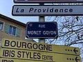Plaque Rue Monet Goyon - Mâcon (FR71) - 2021-03-01 - 2.jpg