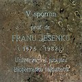 Plaque for Fran Jesenko (1875-1932).jpg