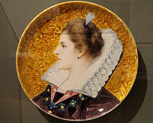 Raphaël Collin - Image: Plate, Joseph Theodore Deck Indianapolis Museum of Art DSC00669