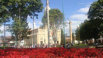 Cajicá - Image: Plaza central Cajicá