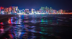 Pohang - Night view of Pohang