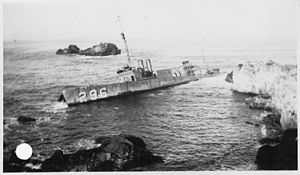 Honda Point disaster - USS Chauncey