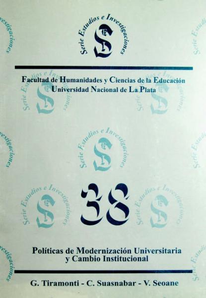 File:Políticas de modernización universitaria y cambio institucional.djvu