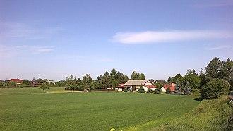 Ciszyca, Masovian Voivodeship - Image: Poland. Gmina Konstancin Jeziorna. Ciszyca 002