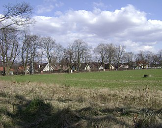 Obory, Piaseczno County - Image: Poland. Gmina Konstancin Jeziorna. Obory 001