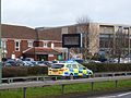 Police car in Maidstone (16302425442).jpg