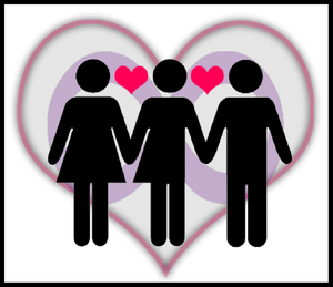 English: The logo for our local polyamory grou...