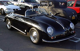Max Hoffman - Porsche 356 Speedster, another model suggested by Max Hoffman