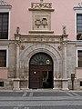 Portada del Palacio del marqués de Villasante (Valladolid).jpg