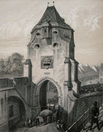 Enceinte de strasbourg wikimonde - La balnche porte ...