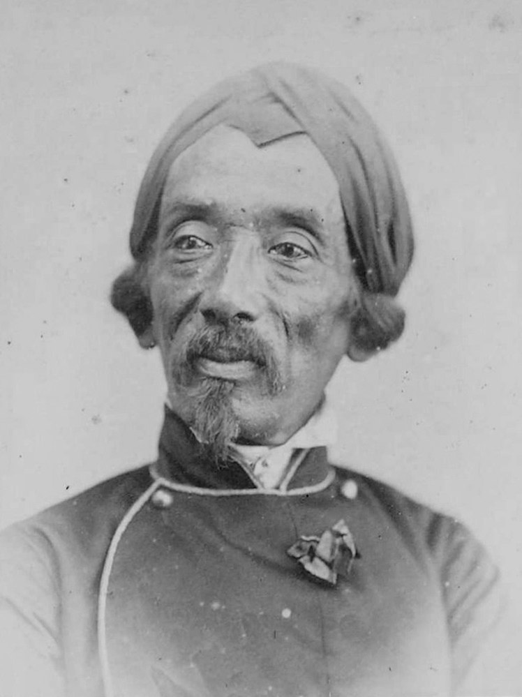 Portrait of Raden Saleh c. 1872