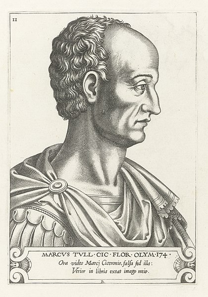 File:Portret van Marcus Tullius Cicero Illustrium philosophorum et poetarum effigies (serietitel) Portretten van Griekse en Romeinse filosofen en schrijvers (serietitel), RP-P-2007-362.jpg
