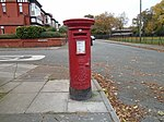 Post box at Ladyewood Road, Wallasey.jpg