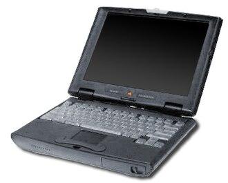 PowerBook 2400c - A Macintosh PowerBook 2400c