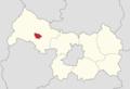 Powiat legnicki - lokalizacja gminy miejskiej Chojnów.png