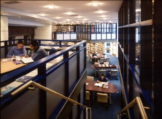 Poly Prep Country Day School - A view of the library