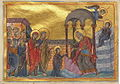 Presentation of Virgin Mary (Menologion of Basil II).jpg