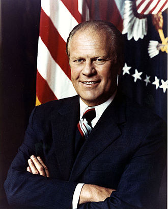 Presidency of Gerald Ford - President Gerald R. Ford poses for an official White House photo in Washington, D.C.