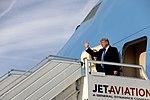 President Trump Arrives in Switzerland (26018931158).jpg