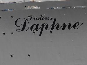 Princess Daphne Name 14 July 2012 Tallinn.JPG