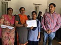 Prize and Certificate distribution ceremony at Wiki Awareness Campaign Karnal 05.jpg