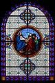 Provins - église Saint-Ayoul - vitrail bas-côté nord 2e travée.jpg