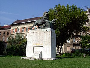 Siege of Przemyśl - Statue commemorating the siege of Przemyśl in Budapest, Hungary