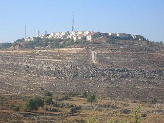 Psagot Israeli settlement in the West Bank