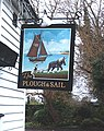 Pub sign - Plough and Sail - geograph.org.uk - 322950.jpg