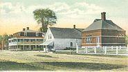 Public Library & Main Street, Hancock, NH